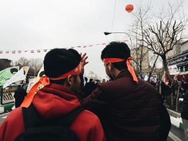 Tehran, Iran. Revolution Day, February 2017
