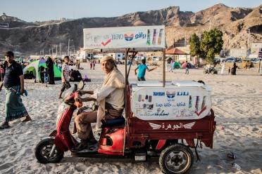 Aden, Yemen. January 2018