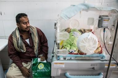 Newborn ward. Public Sadaka Hospital. Aden, Yemen. January 2018
